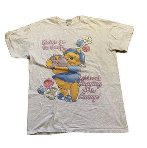 Vintage Winnie The Pooh Night Gown Womens Oversized Shirt Dress Disney Hunny for Sale in Pelham, NH