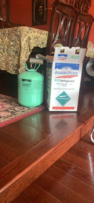 Ameri-Pure R22 Refrigerant 30lb (around 2lb used) for Sale in Centreville, VA
