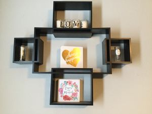 Black wall shelves for Sale in San Antonio, TX