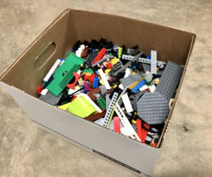 Big 10 pound box of lego pieces for Sale in Raleigh, NC