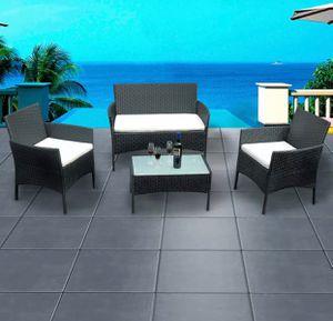 Brand New! Nuevo! Black Patio Outdoor Balcony Furniture Set for Sale in Orlando, FL