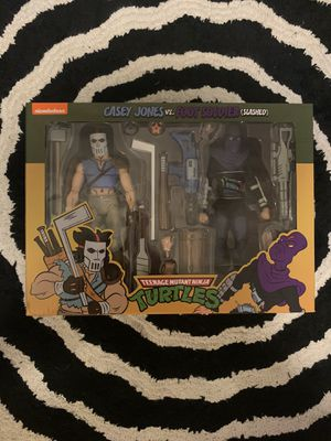 TMNT Casey and Slashed Action Figure Set for Sale in Fair Oaks, CA