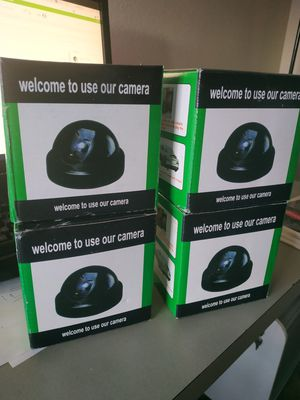 Dummy security cameras for Sale in Portland, OR