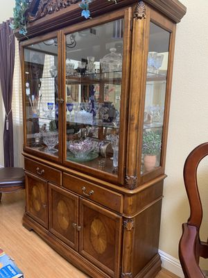 Antique China Cabinet for sale! for Sale in Corona, CA