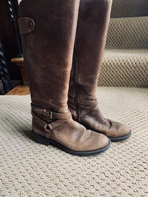 Enzo brown riding boots - women's size 7 for Sale in Hinsdale, IL