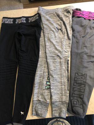 Pink Victoria Secret legging & joggers XS-S for Sale in Richardson, TX