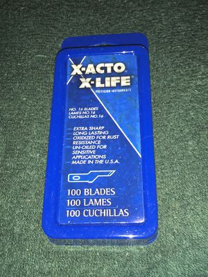 Xacto xlife blades for Sale for sale  Queens, NY