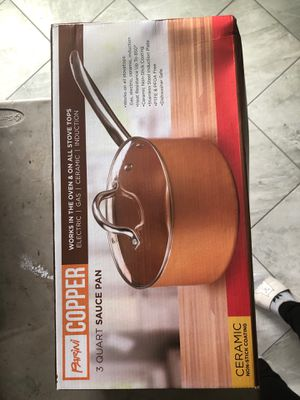 copper sauce pan for Sale in Los Angeles, CA