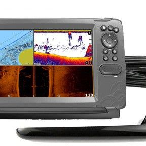 Lowrance Hook2-9 Tripleshot Fishfinder with Inland maps for Sale in Dallas, TX