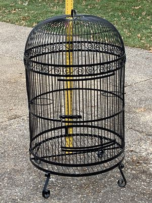 Very large wire iron birdcage. for Sale in Saint Charles, MO