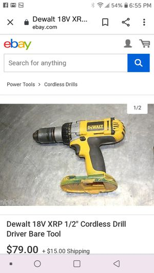 Dewalt drill ... Only drill no battery no charger. for Sale in Las Vegas, NV