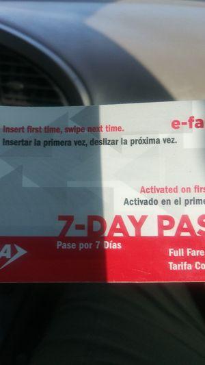 Bus pass for Sale in San Antonio, TX