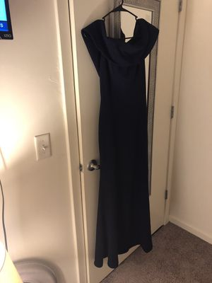 Besty and Adam Women's long off the shoulder ruffle back dress for Sale in Washington, DC