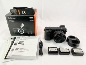 Sony A6300 24.2MP Mirrorless Digital Camera Black with 16-50mm Lens Kit & Extra Batteries for Sale in Diamond Bar, CA