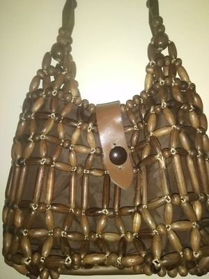 Vintage 1950s 1960s wooden purse handbags for Sale in Takoma Park, MD