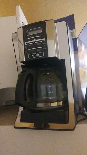Kitchen appliance duo -mr coffee and a deep fryer still in box- for Sale in Kent, WA