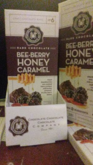 BEE-BERRY HONEY CARAMEL DARK CHOCOLATE for Sale in Takoma Park, MD