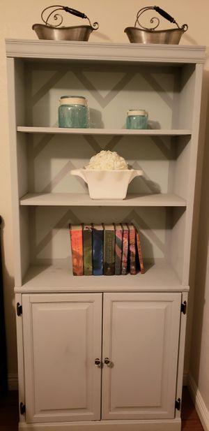"""book shelf with storage 72""""h x 32"""" w x 12"""" d for Sale in Scottsdale, AZ"""