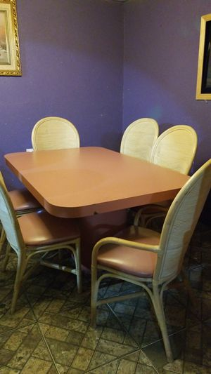Dinning table 6 chairs for Sale in US