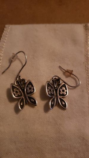 James avery mariposa RETIRED earrings for Sale in Corpus Christi, TX
