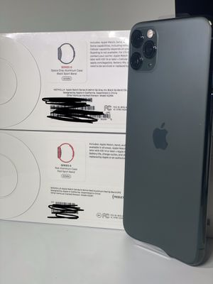 iPhone 11 Pro Max + series 6 Apple Watch for Sale in Rialto, CA