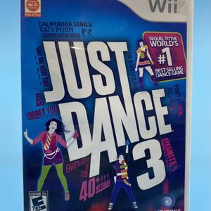 Wii Just Dance 3 Video Game for Sale in Watsonville, CA