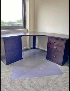 Cherry Corner Desk Set for Sale in Falls Church, VA