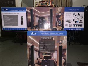 BNW Acoustics SX-90 Home Theater System Brand New sealed in the Box for Sale in Orlando, FL