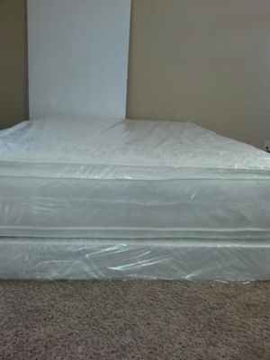 Queen new pillow top bed can deliver for Sale in Lodi, CA