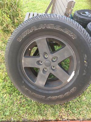 Jeep wheels, Jeep rims for Sale in Miami, FL