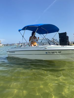1994 sunbird evirude 115hp two strokes 16ft Vessel for Sale in Humble, TX