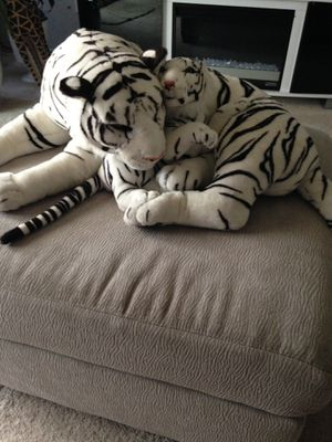 Toy Stuffed White Tiger for Sale in Crofton, MD