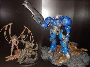 Blizzard collection blizzcon pin Statue funko for Sale in Houston, TX