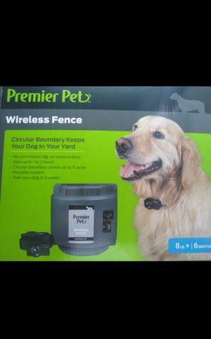 PREMIER PET 2 WIRELESS FENCE for Sale in Grand Prairie, TX