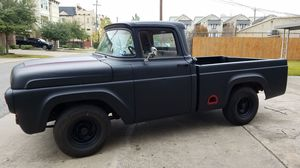 1958 FORD F100 - RAT ROD RESTORED BLUE PRINT Y 292 MOTOR for Sale in Houston, TX