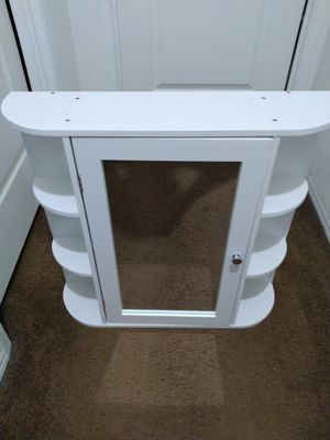 Mirror Wall Medicine Cabinet with shelves for Sale in Riverside, CA