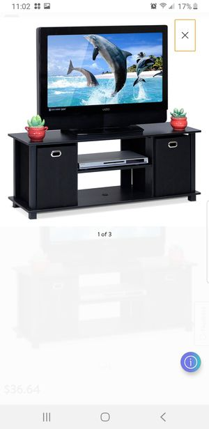 Black TV Stand. NEW IN BOX!!!! for Sale in Phoenix, AZ