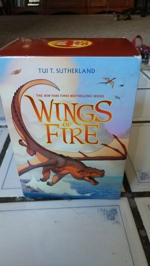 Wings of fire book pack for Sale in La Verne, CA