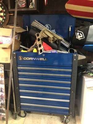 Cromwell 7 drawer toolbox with tools for Sale in Carlsbad, CA