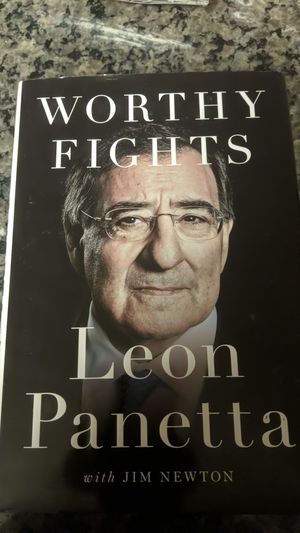 Worthy Fights Leon Panetta Book for Sale in Rogers, AR