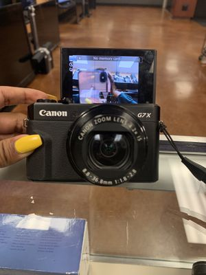 Canon G7X for Sale in Little Rock, AR