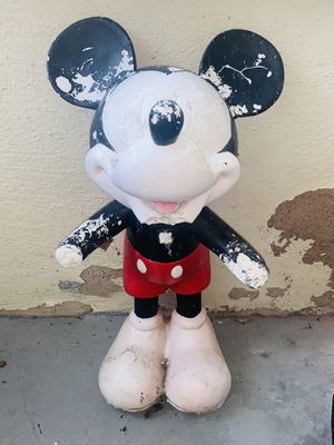 VINTAGE Antique *Mickey Mouse* Original Statue Walt Disney Figurine for Sale in New Haven, CT