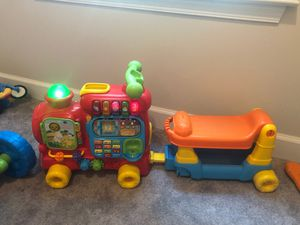 Baby train walker and toy for Sale in Newport News, VA