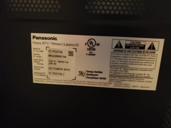 "Panasonic 55"" Smart TV"