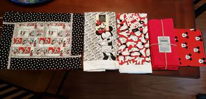 Disney Mickey & Minnie towels, place mats, napkins, & pouch - $40 OBO for Sale in Springfield, VA