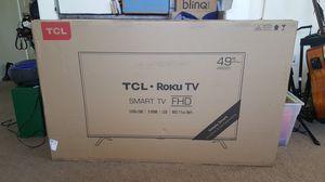 "49"" TLC Roku FHD SMART TV. Brand new never been opened. for Sale in Phoenix, AZ"