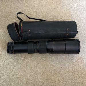 Asanuma Telescopic 400 Milimeter Lens for Sale in Redondo Beach, CA