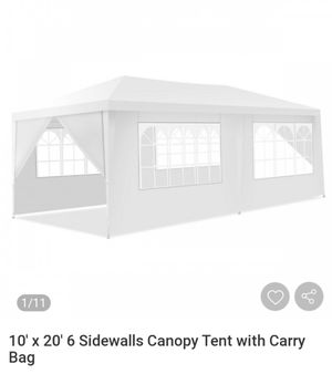 10*20 ft tent with carry bag for Sale in Goodyear, AZ