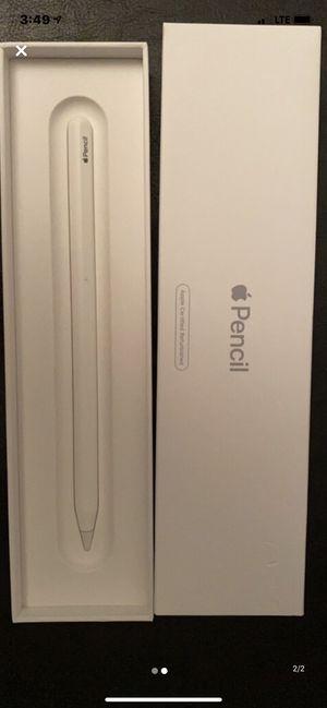 Apple Ipad 2nd Gen Pencil for Sale in Moorestown, NJ