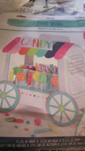 Candy treat stand for Sale in ROXBURY CROSSING, MA